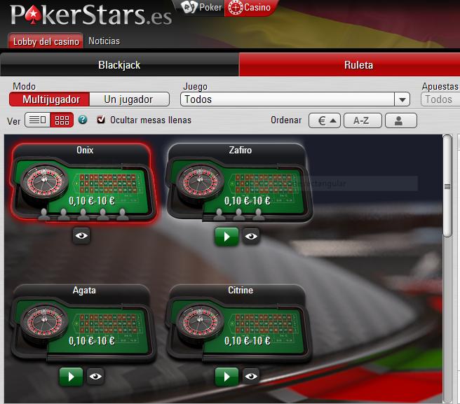 Casino en vivo pokerstars Real Time-118629