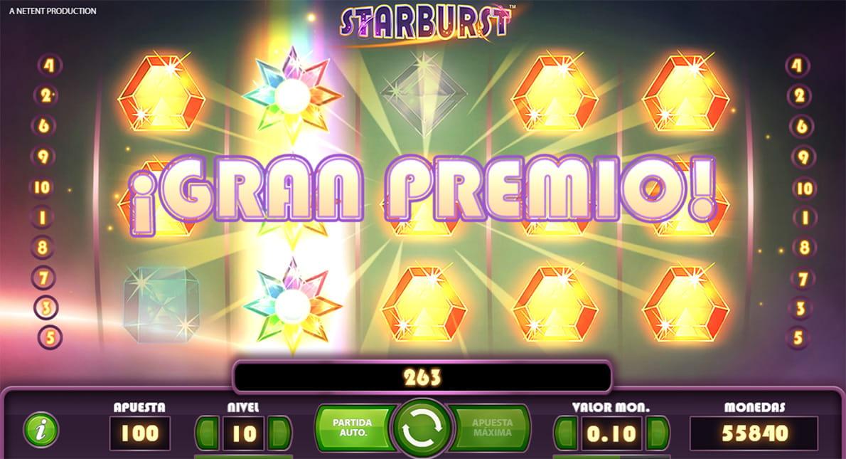 Botemania ganadores tragaperra Starbusrt-288610