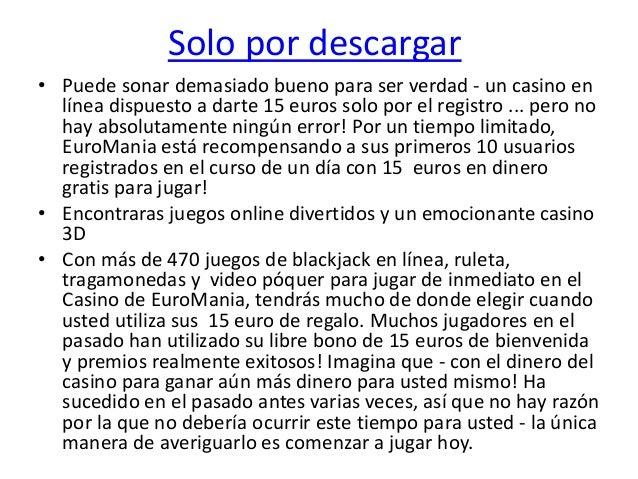 10 euros gratis sin deposito casino online OpenBet-314857