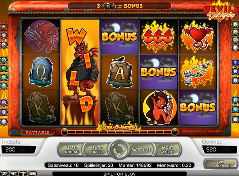 10 Tiradas gratis Devil's Delight bonos free-85981