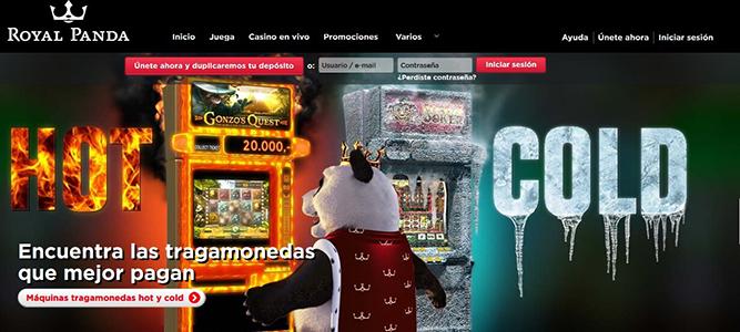 Tragamonedas gratis royal panda comprar loteria en Murcia-19747