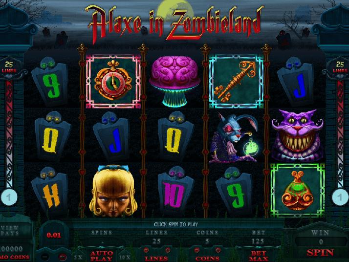 Tragaperra Alaxe in Zombieland juegos gratis-906257