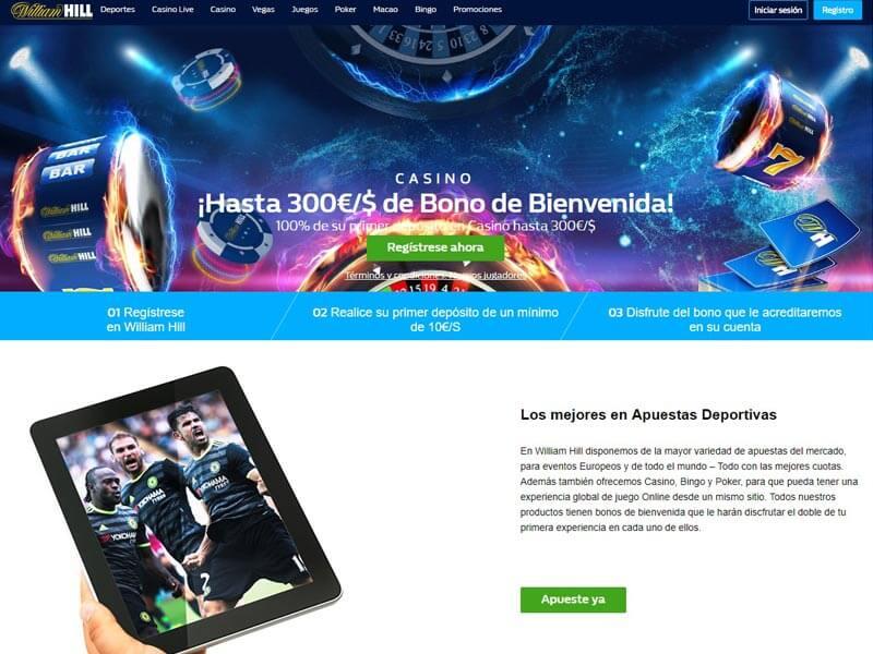 Bono de bienvenida william hill existen casino en Honduras-354378