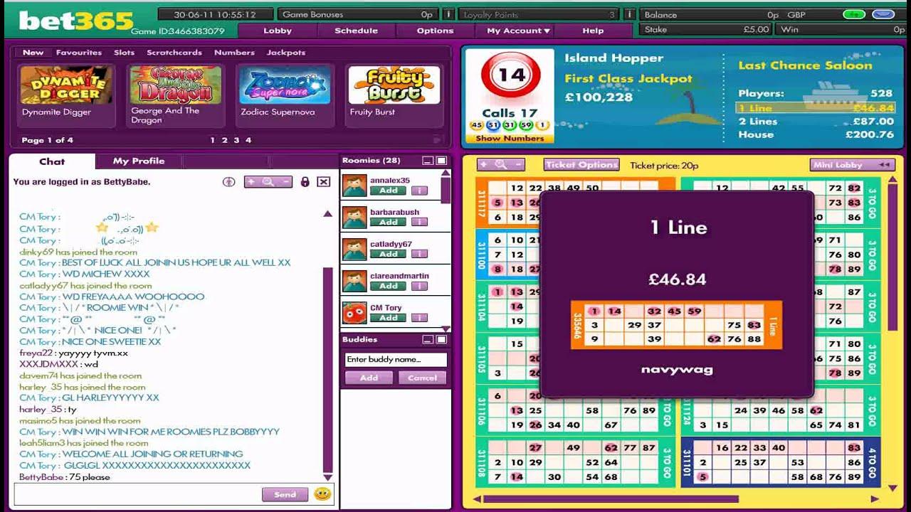 Salas bingo fiables bonus code bet365-531074