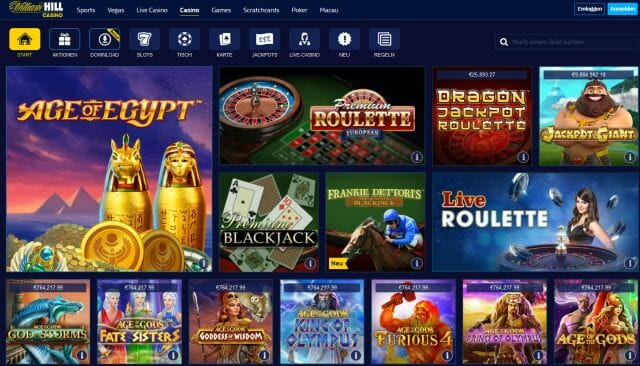 Casino epoca online william Hill es-658631