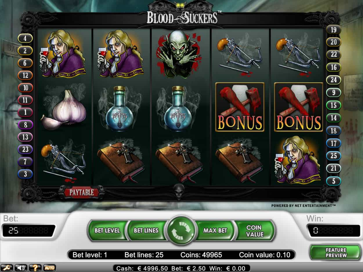 Slots gratis opiniones tragaperra Blood Suckers-510441