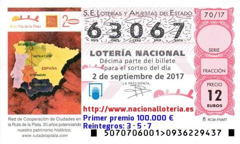 Premios por terminacion loteria nacional william Hill es-584978