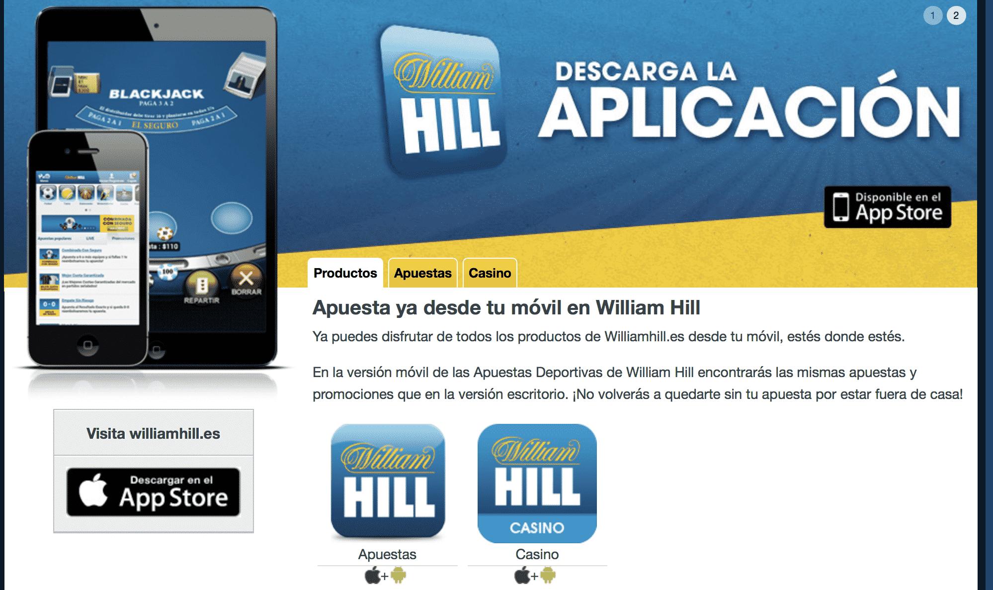 Juega desde tu móvil de forma segura bono de bienvenida william hill-749448
