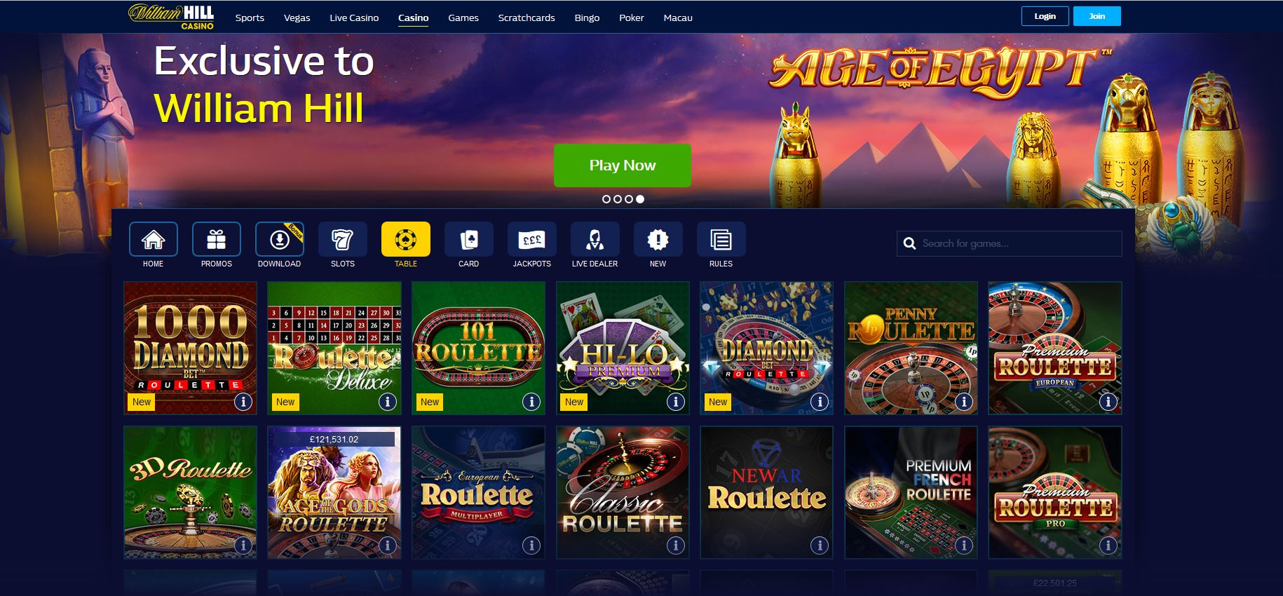 Unibet online casino William Hill-889844