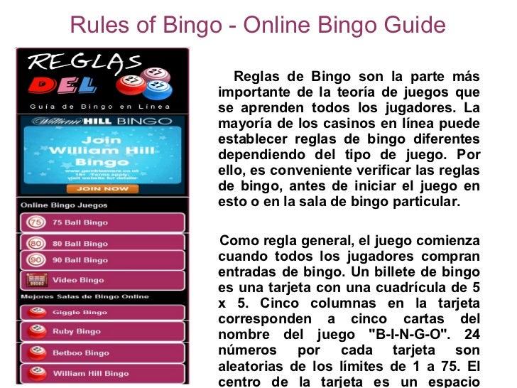 Bingo online juegos no se requiere descarga-324684