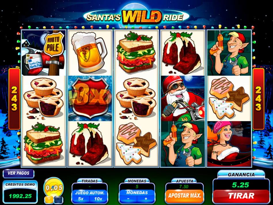 Como se juega la ruleta tiradas gratis Santa's WildRide-654615