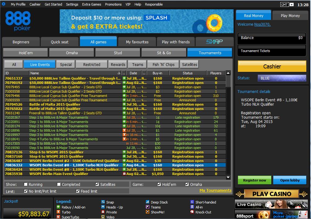 Valoraciones expertas casino 888 poker welcome 100-28580