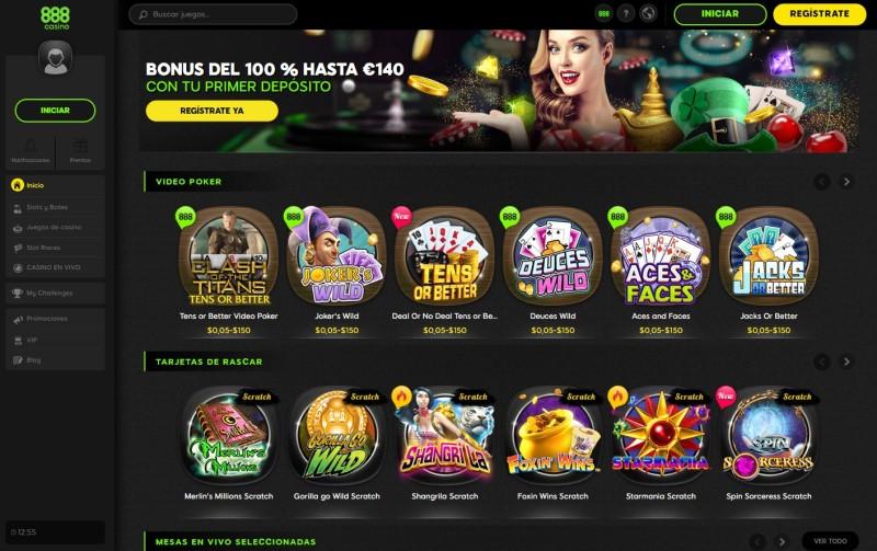 Lista de casino on line casino888 Tenerife online-892658