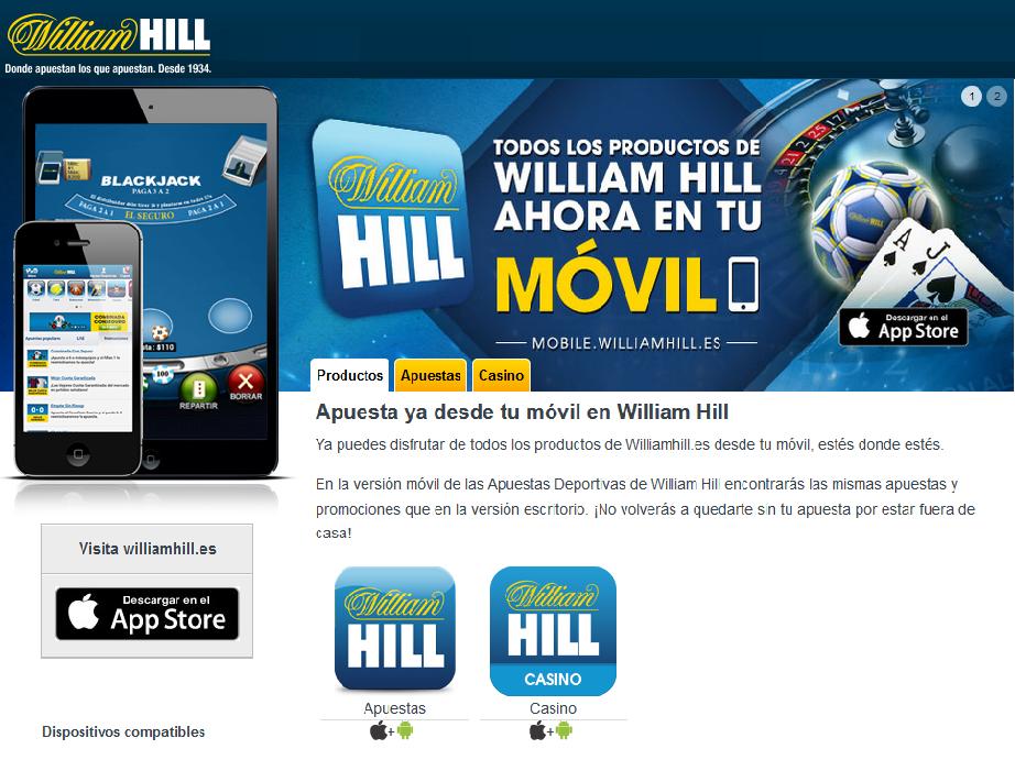 William hill casino app de juego online Portugal-658429