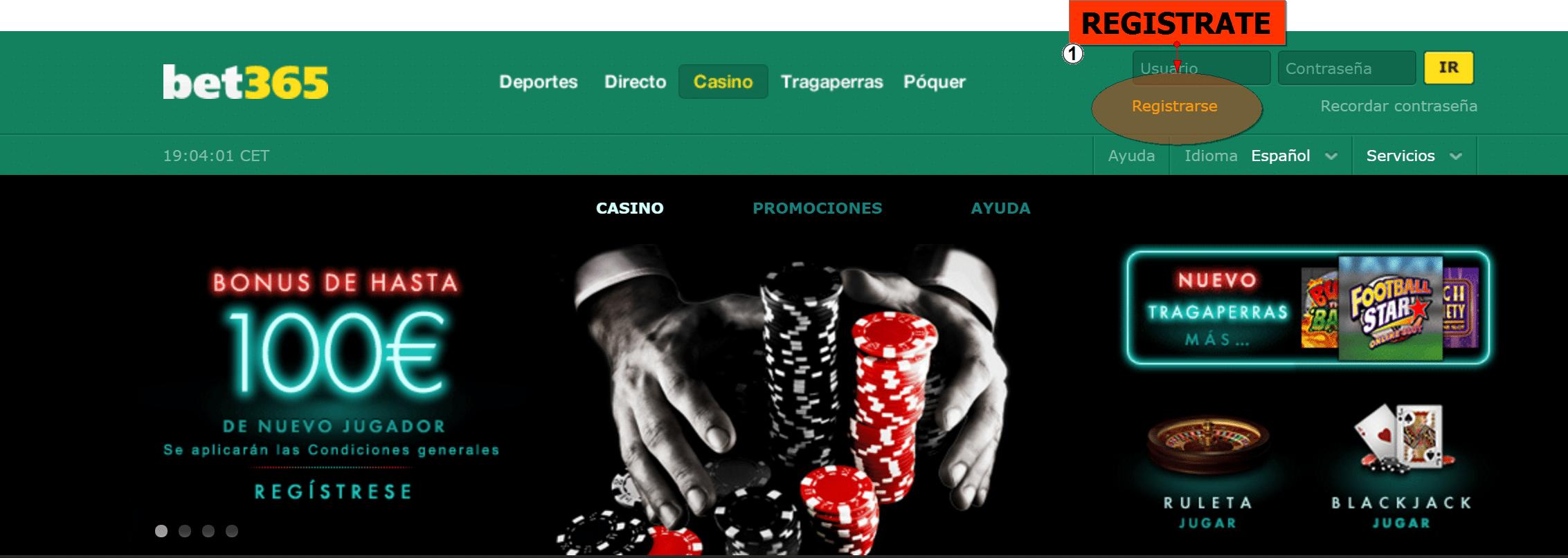 Jugar casino en vivo bono bet365 Brasília-733952