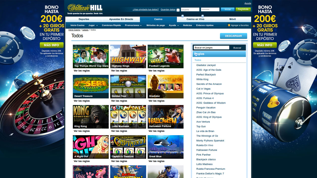 William hill argentina torneos celebrados casino-145545