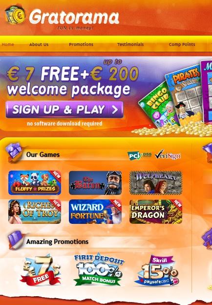 Gratorama paga gratis GANING casino-765709