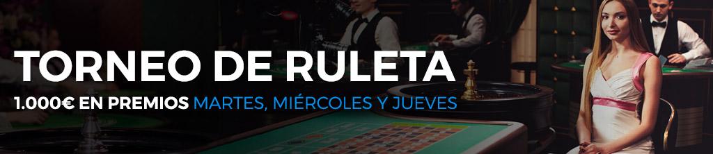 Ruleta gratis con premios torneos de slots-218557