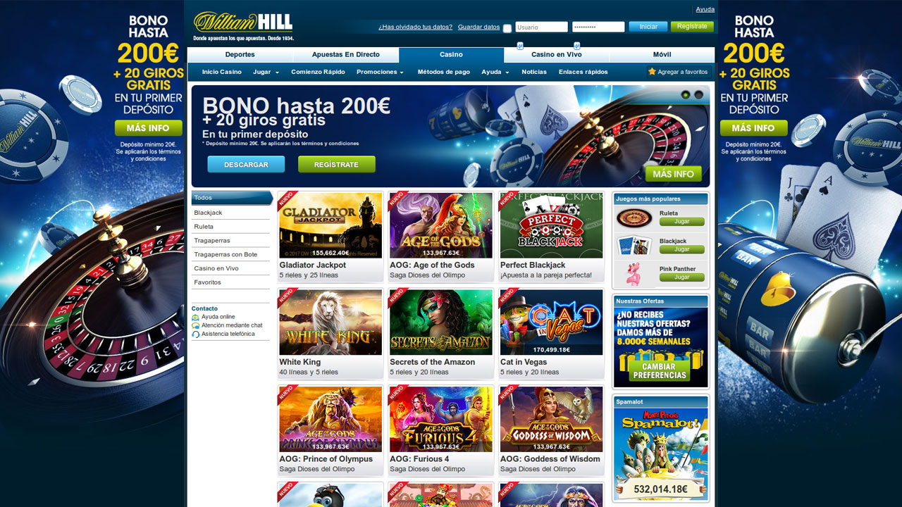 William hill live casino con los mejores bonos-316777