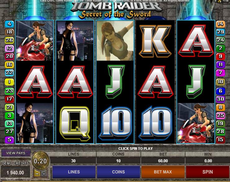 Premios gratis ruleta tragamonedas Tomb Raider-11505