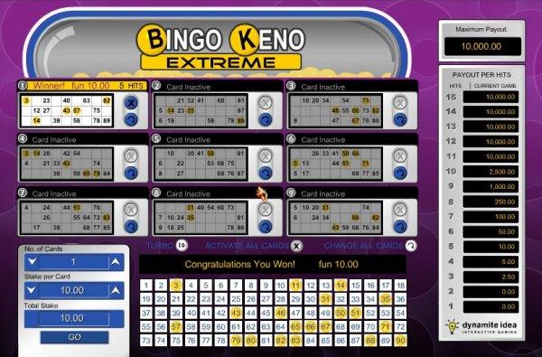 Bingo keno betsson casino-530294
