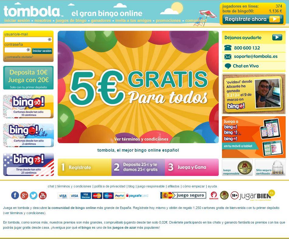 Gratis bonos Tómbola juegos de azar online-911579