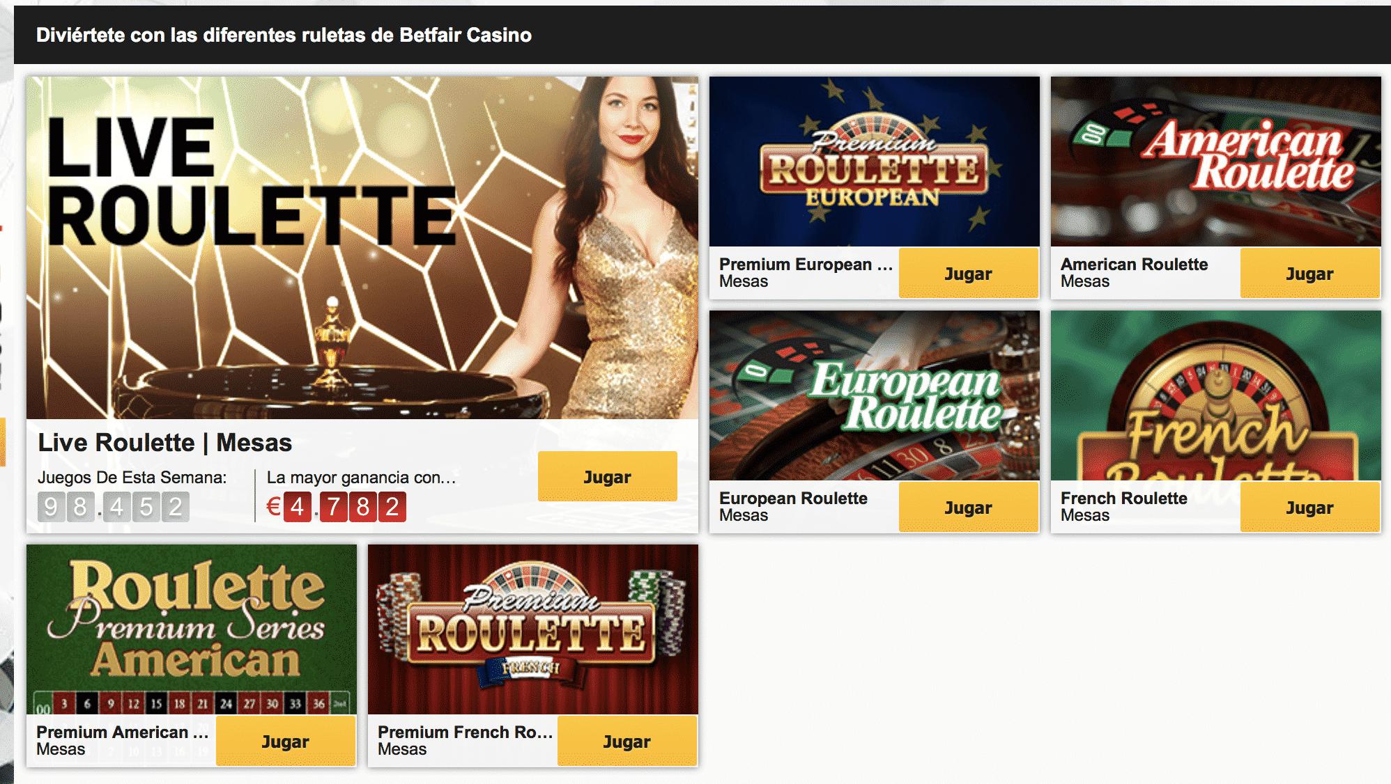 Variedad juegos casino betfair poker-936808