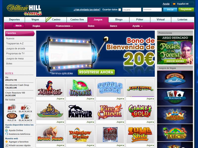 William hill casino juegos Extreme-372352