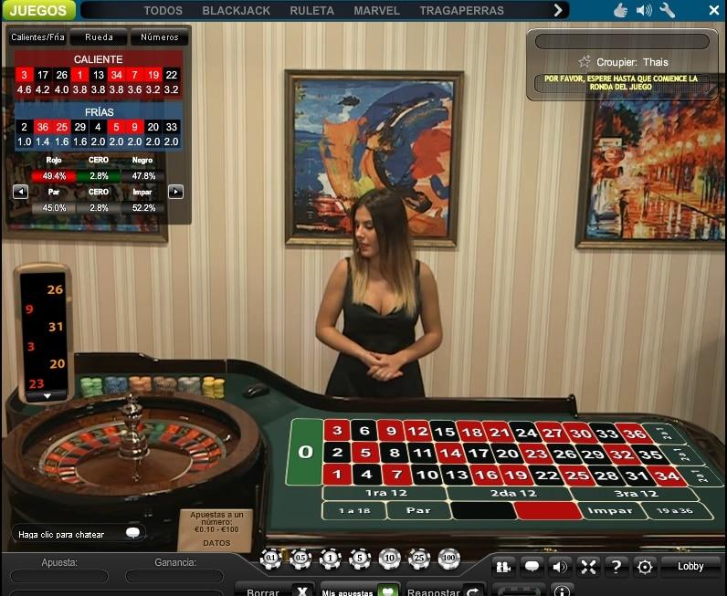 Ruletas de casinos william Hill es-622027