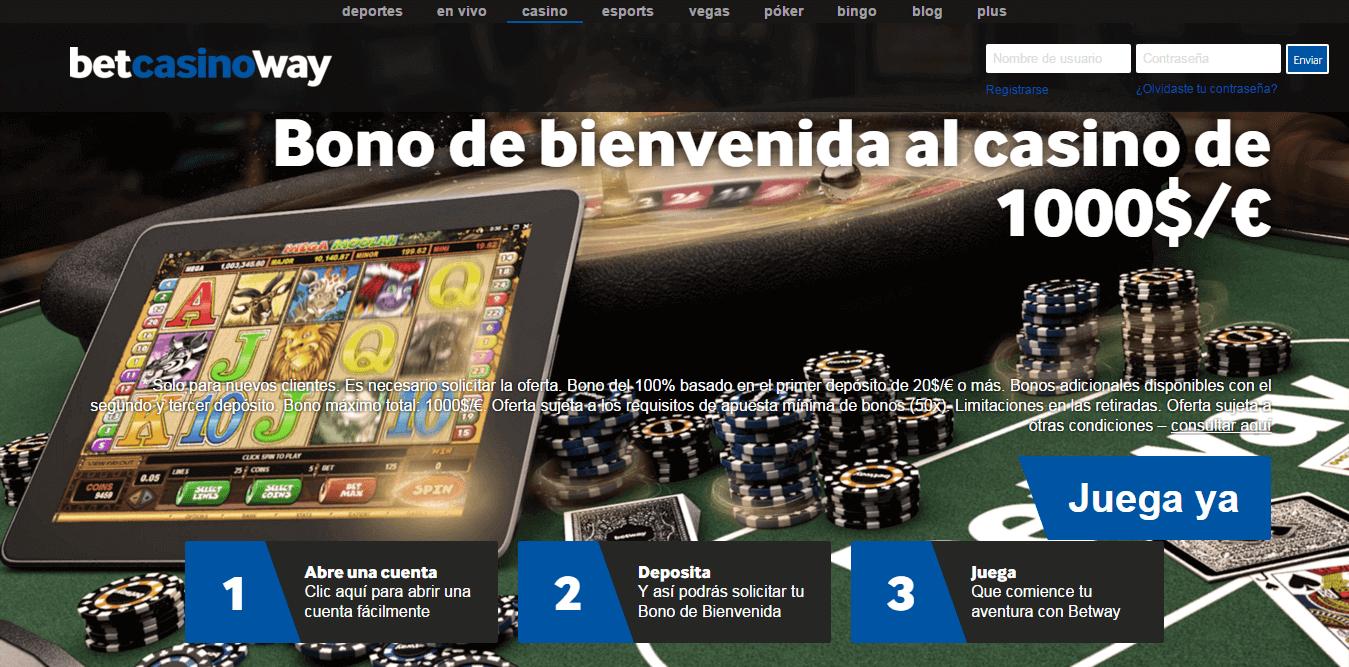 Bono en poker de betway ruleta española-695664