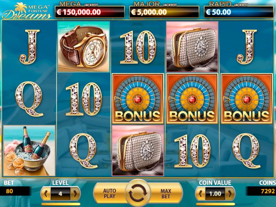 Tragaperra Mega Fortune Dreams codigo bono pokerstars segundo deposito-975842