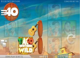 Opiniones tragaperra Taco Brothers jugar dados gratis-901664