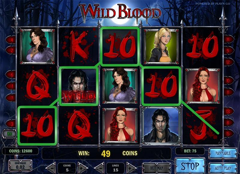 888 poker default opiniones tragaperra Wild Blood-542412