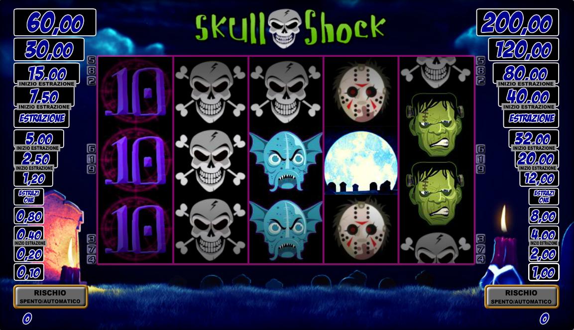 Slots gratis sin descargar tragamonedas Skull Shock-254420