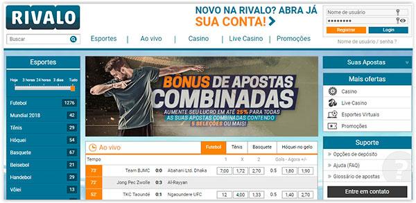 Online Rivalo apuestas deportivas bonos gratis-733470