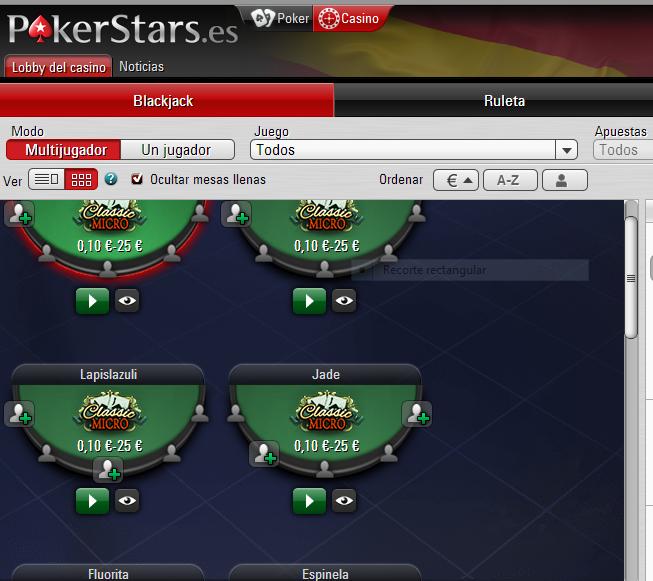 Tipos de blackjack funcionamiento pokerstars dinero real-345111
