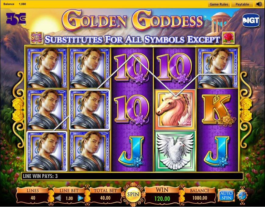 Juego de casino golden goddess palaceofChance com-688706