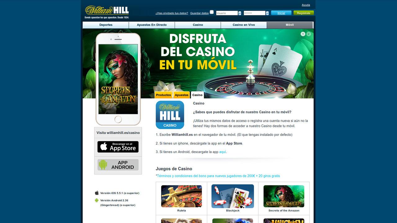 William hill live casino con los mejores bonos-56250
