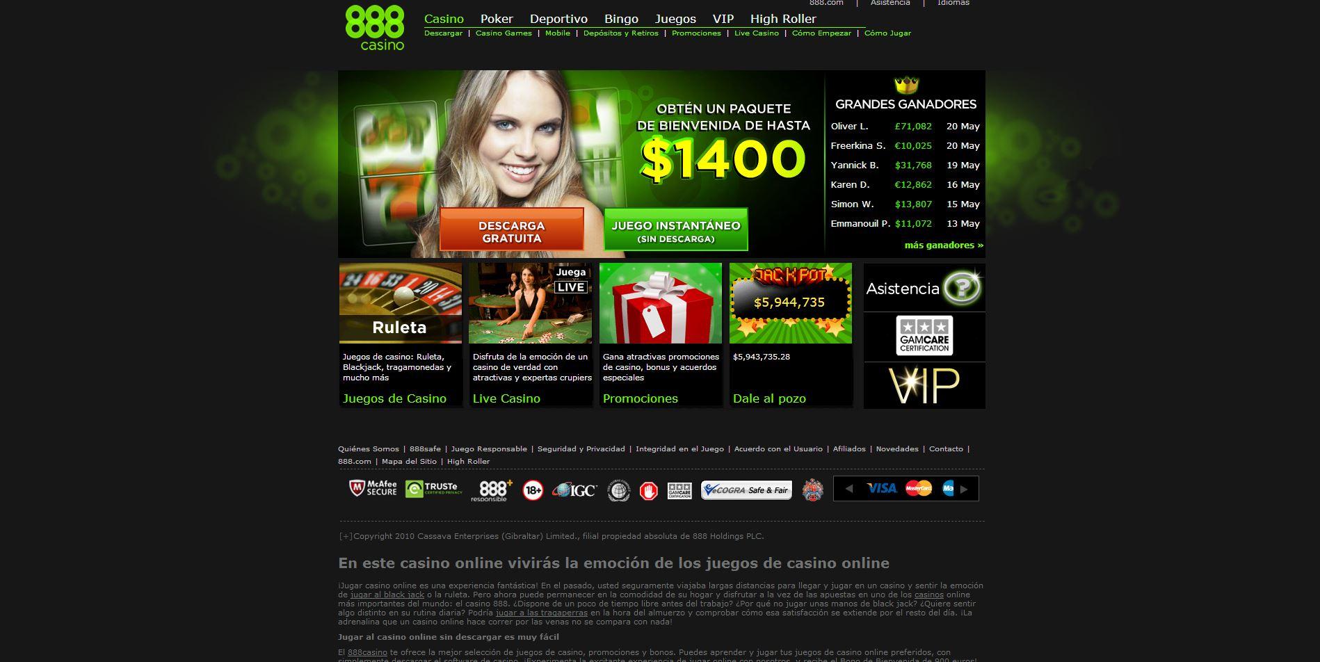 Casino Madrid premios 888 juegos de gratis para jugar-157464