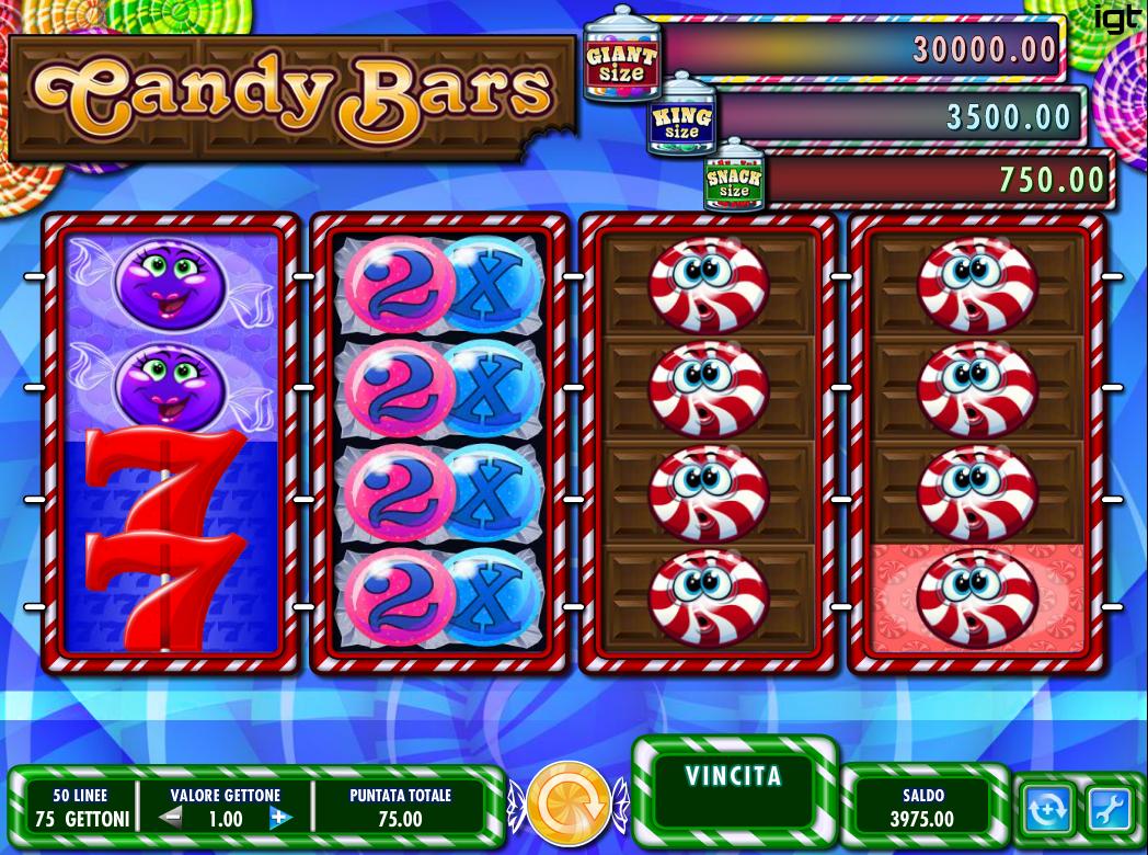 Apuestas tragamonedas online jugar Candy Bars-763881