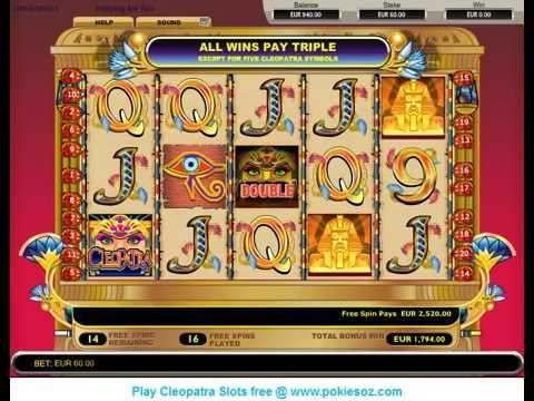 Maquinas tragamonedas gratis cleopatra online Playtech-92042
