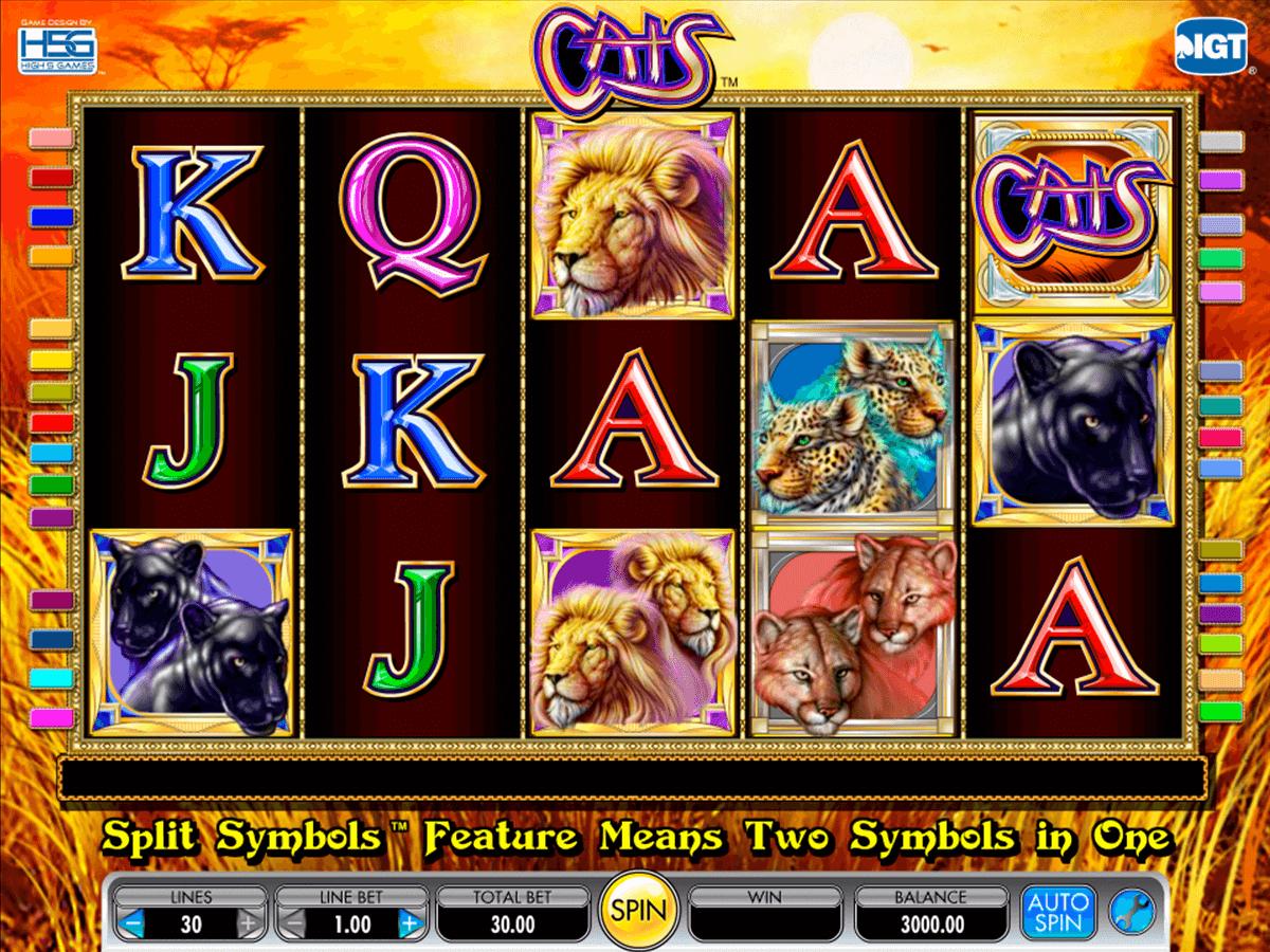 Tragamonedas gratis con juego cats online Pariplay-209338