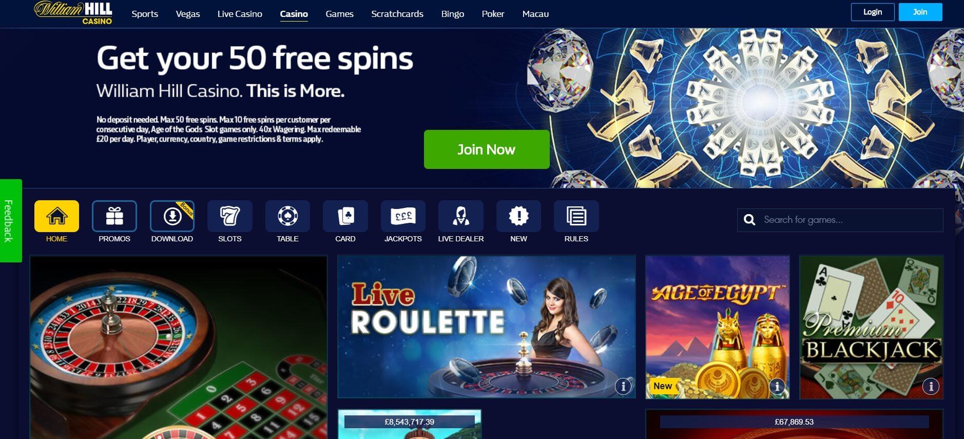 Hill williams casino 3D Portugal-306441