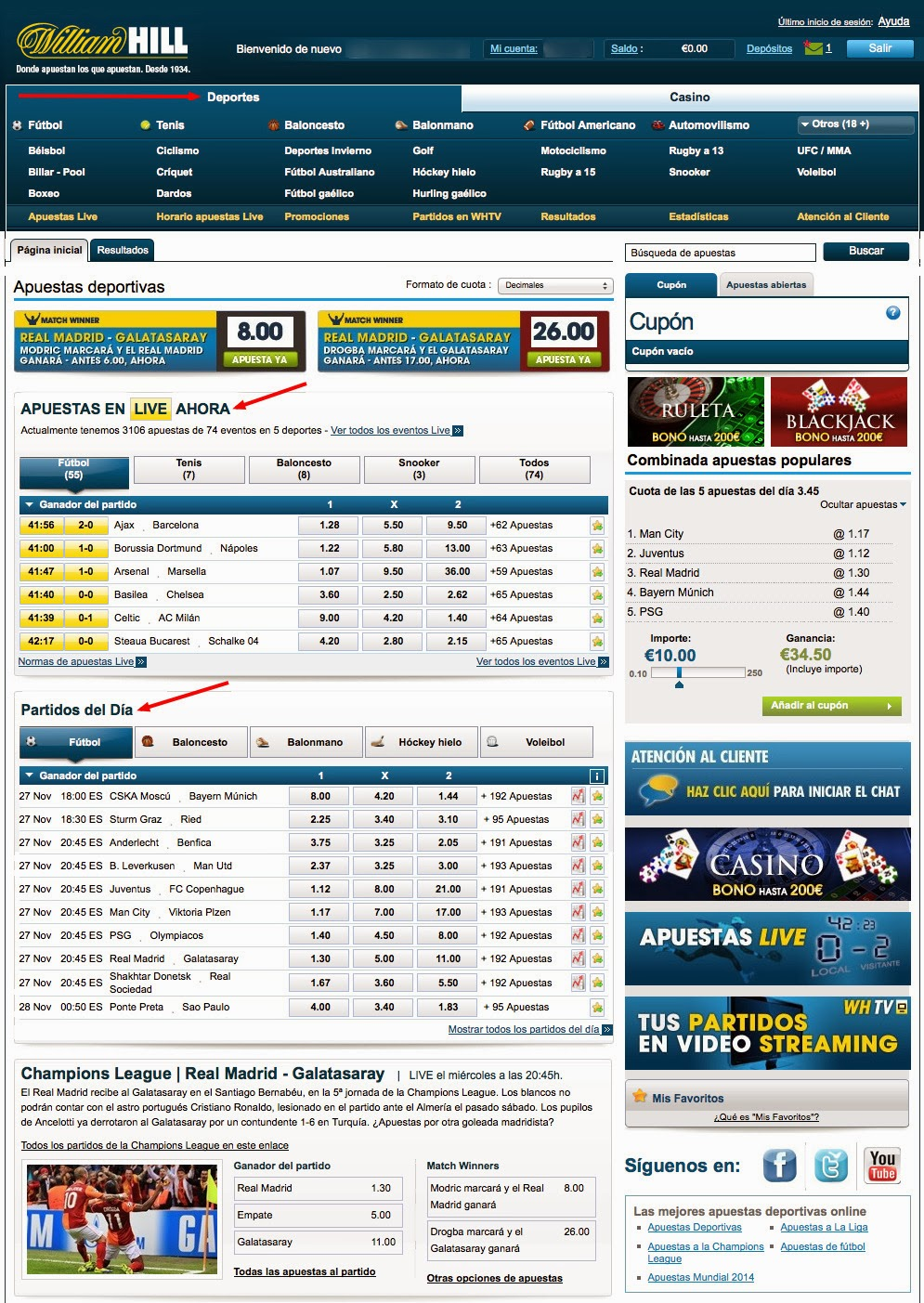 Online 32Red deportes williamhill es-524277