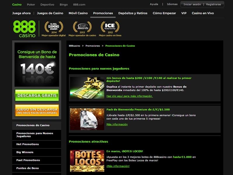 Gratis en bonos Perú 888 casino app-68835