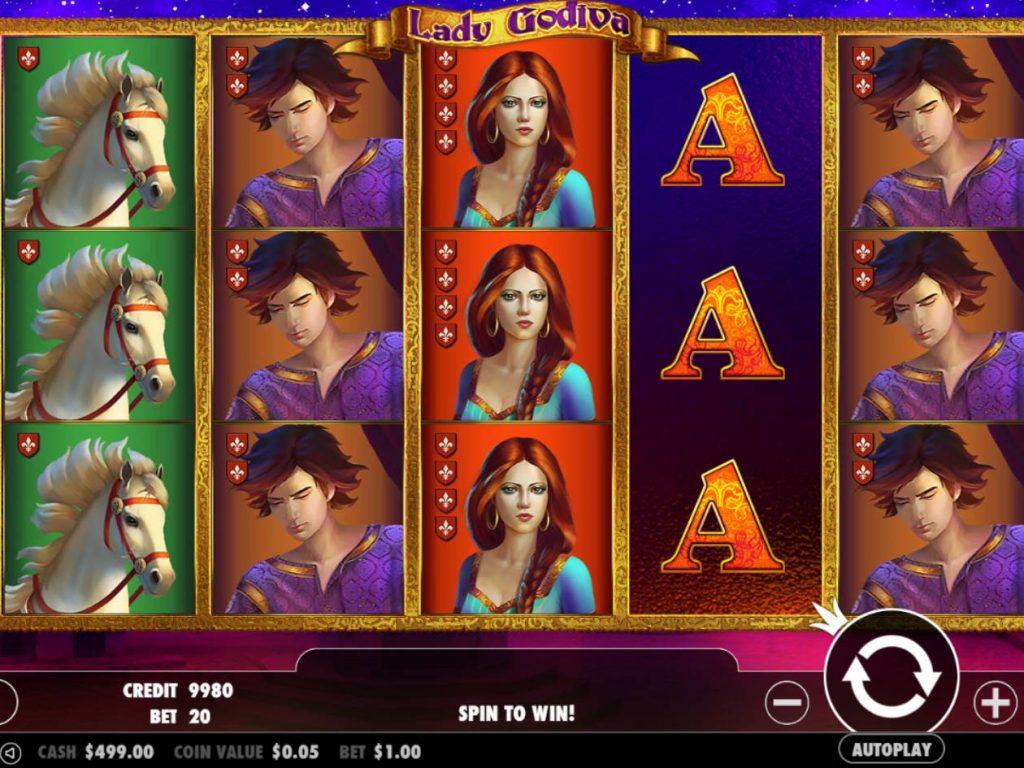 Juego gratis tragamonedas faraon Lady Godiva-763783