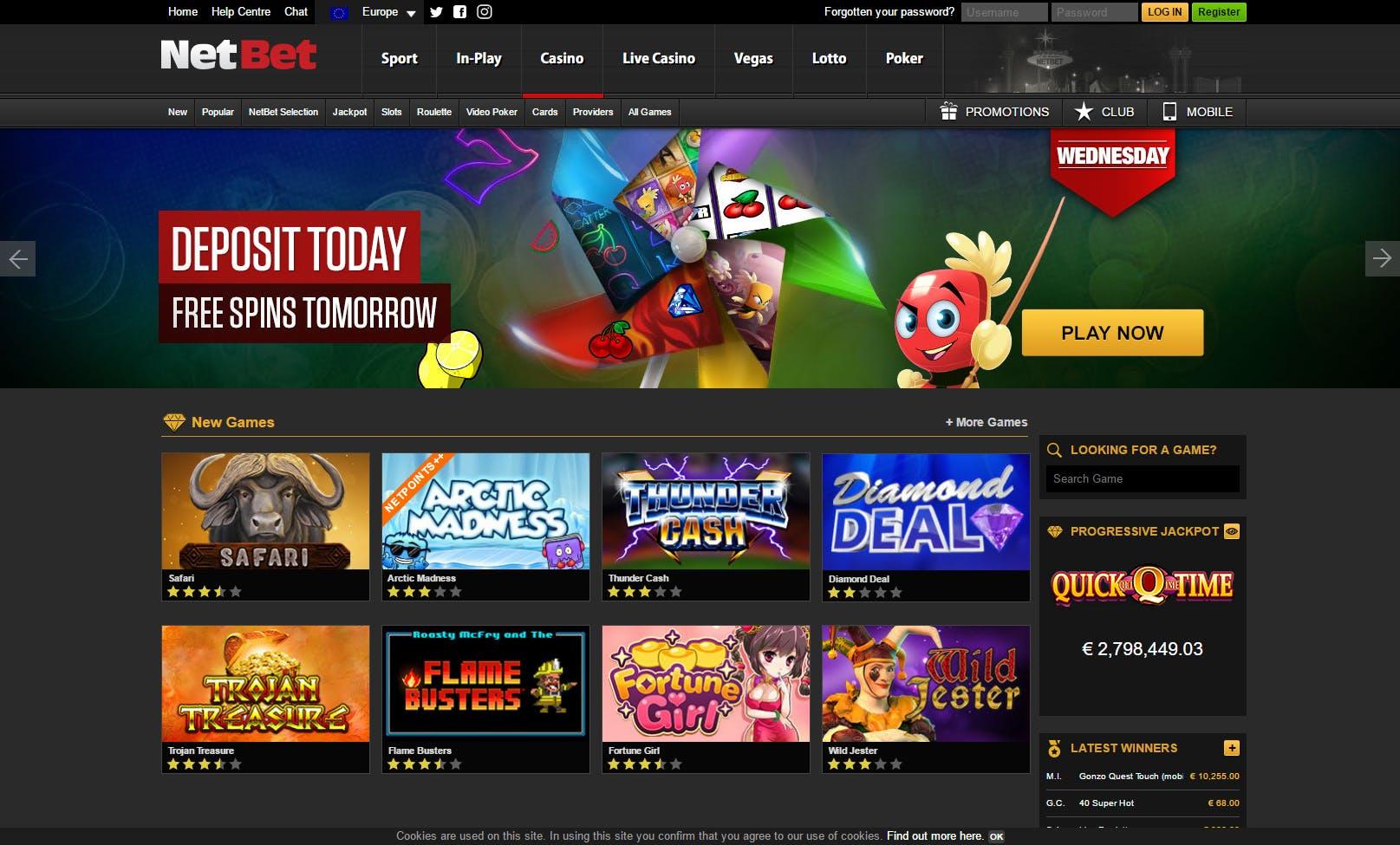 Netbet poker giros gratis casino Málaga-344726