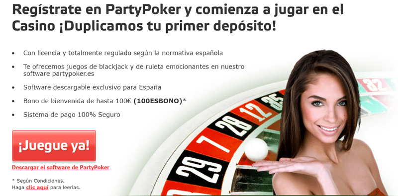 Party poker commodore casino bono-481055