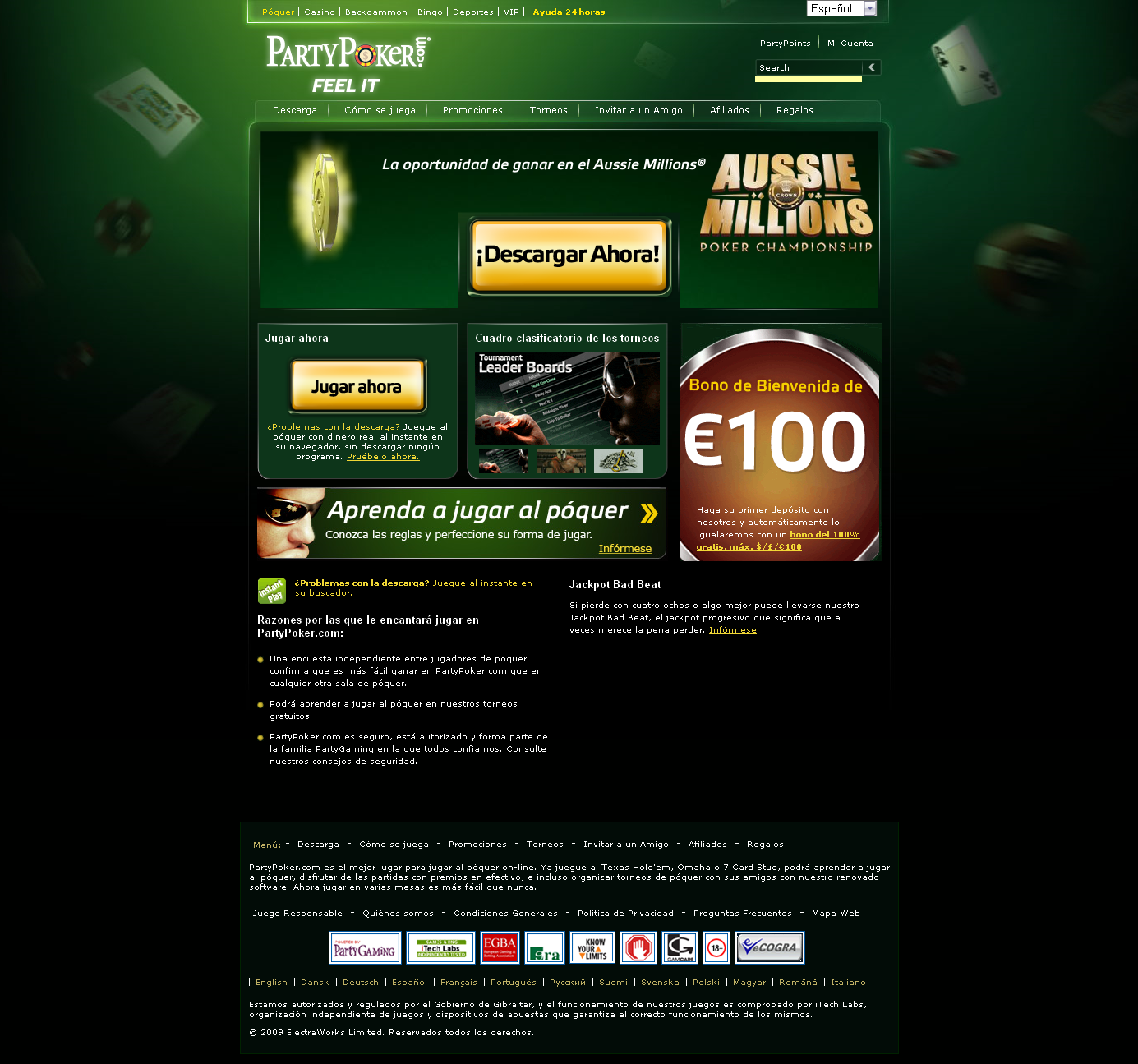 Party poker los mejores casino online Fortaleza-32108