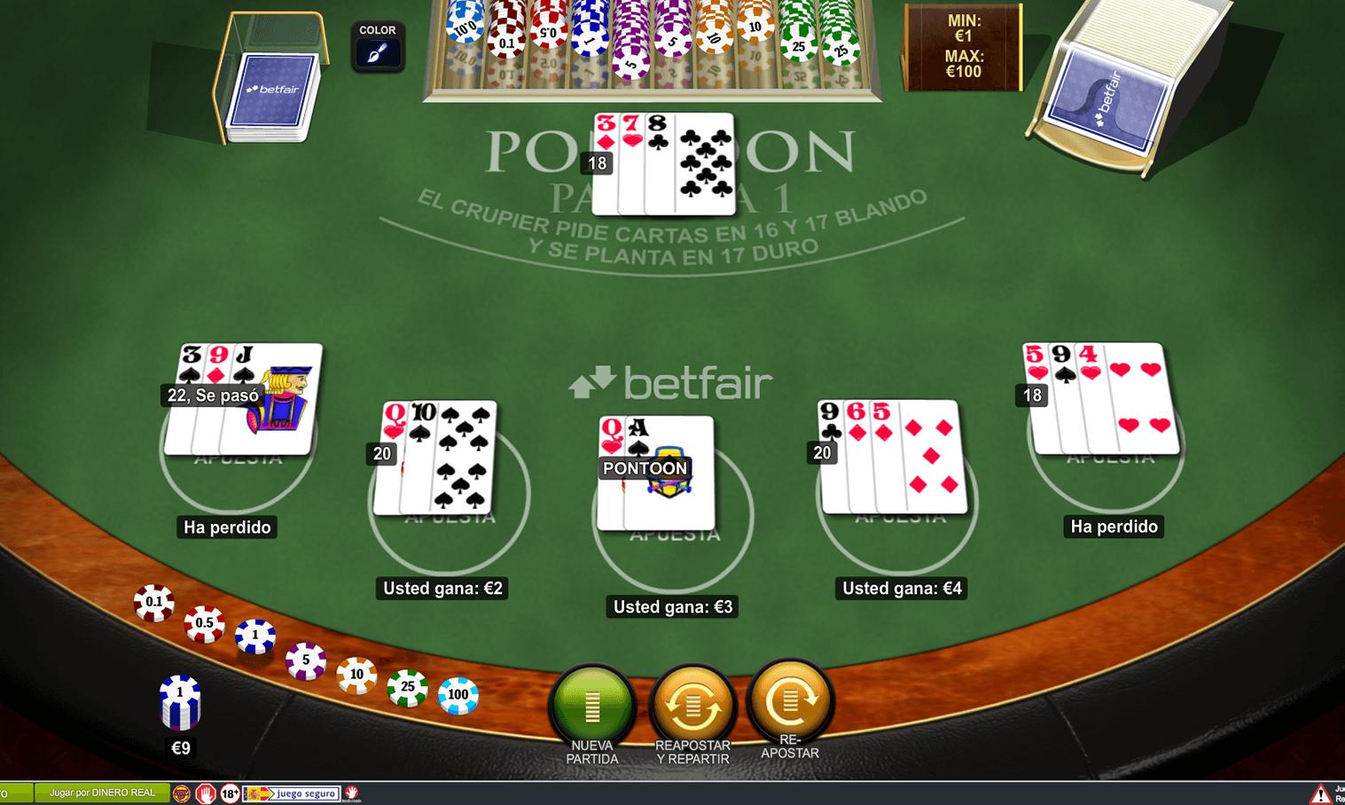 Puede ganar en casino online 50€ gratis BETFAIR-60307